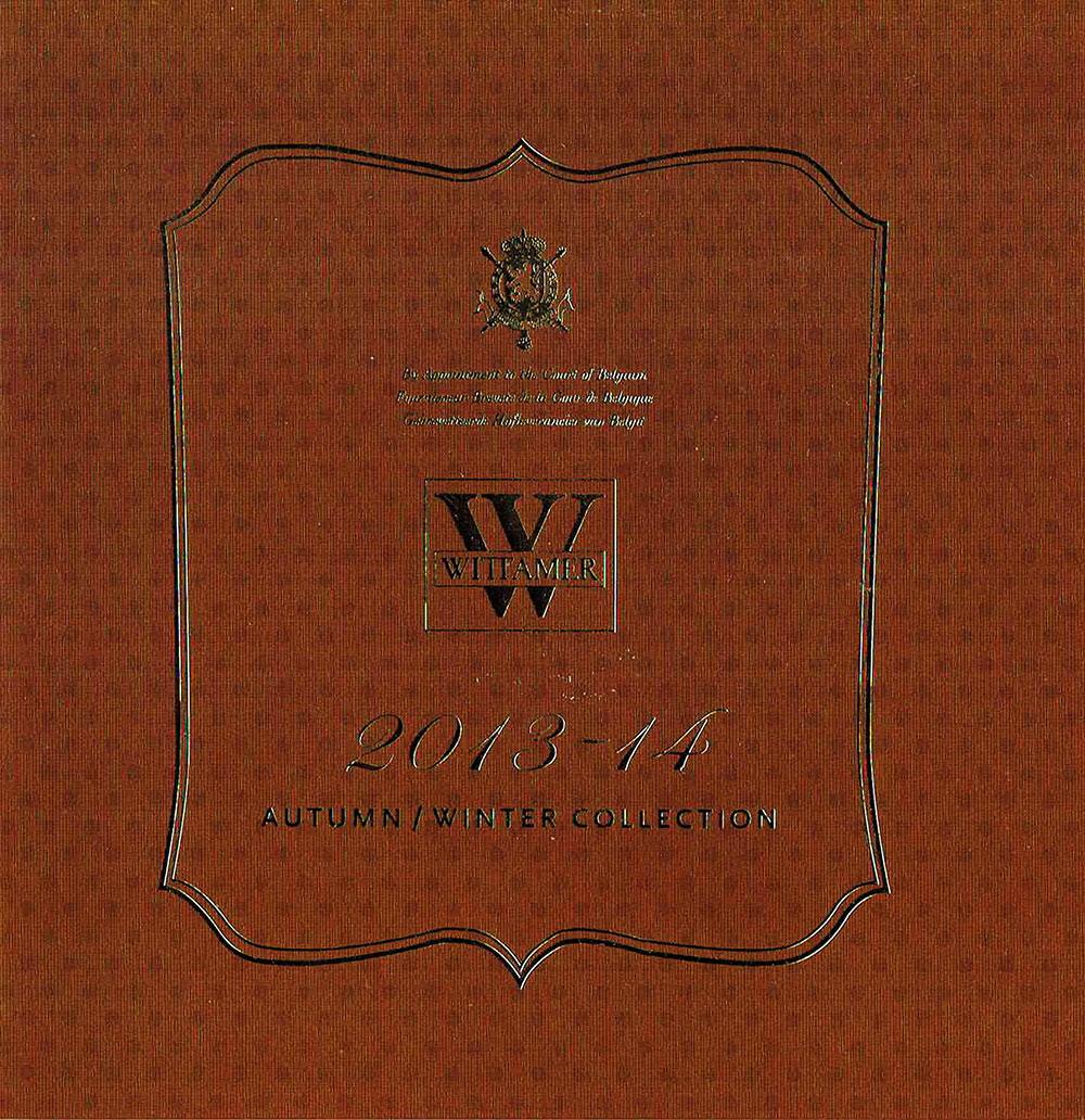 「WITTAMER ヴィタメール2013-14 」パンフレットデザイン