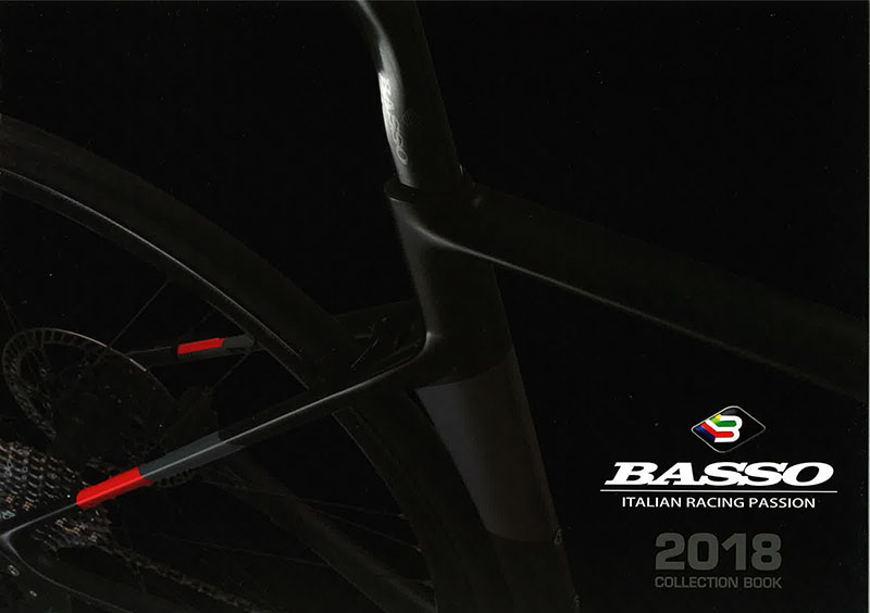 BASSO「バッソ 自転車カタログ 2018」デザイン