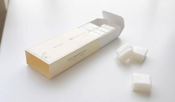 携帯に便利!使いきりサイズの「旅する石鹸やぎミルク」はキャラメルのようなデザインが秀逸