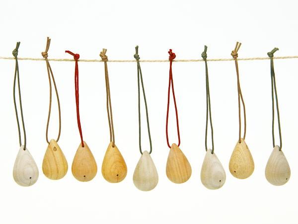 優しい音色に癒やされる木の鈴「MOKURIN もくりん」