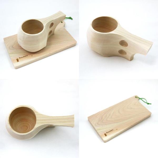 世界で1つ 自分だけの木製マグカップ「京ククサ DIYキット」