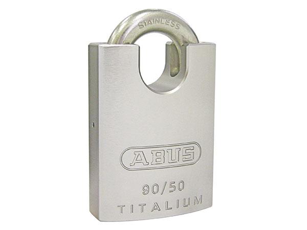 スタイリッシュな南京錠「ABUS南京錠タイタリウム 90RK/50」